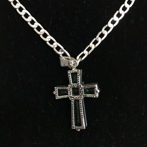 Other - 925 Silver Chain & Cross Pendant